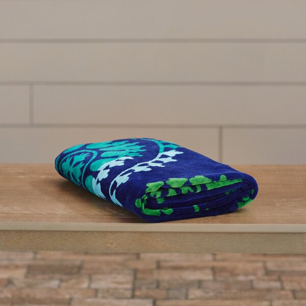 Abarca 100% Cotton Beach Towel by Ebern Designs